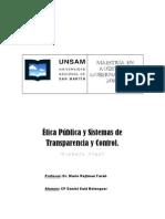 Trabajo Final - Etica y Trans Par en CIA - CP Belenguer
