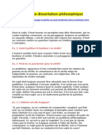 2535362 Methode de La Dissertation que