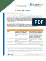 Behavior Change Theories