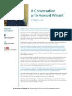 Howard Winant Interview