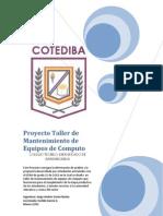 Proyecto Talleres Comunitarios Cotediba