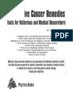 Alternative Cancer Remedies