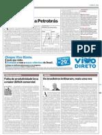 AE - Contradições na Petrobrás -  25.11.11