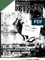 Al Hamilton Mississippi River Duck Hunting - Tennessee Sportsman 1983