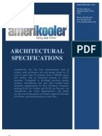 AmeriKooler Architectural Specifications