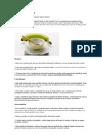 cardápio banana verde