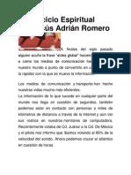 El Ejercicio Espiritual Por Jesus Adrian Romero