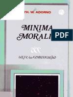 Minima Moralia - Theodor W[1]