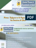 Organizacion de Los Servicios de Salud