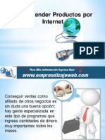 Como Vender Productos Por Internet