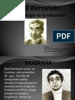 Diapositivas Basil Bernstein Expo