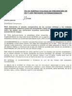 La legislación de seguridad laboral chilena en el concierto latinoamericano y mundial