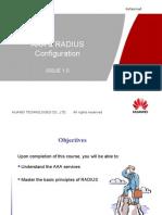 Aaa & Radius Configuration Issue1