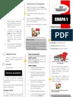 Panfleto da Chapa 1