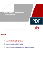 En-AR46-Sld-AR46 Series Enterprise Core Routers ISSUE 1