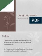 28 doctrinas
