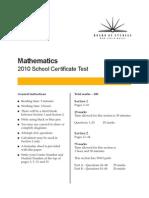 2010-SCT-Maths