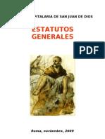 ESTATUTOS GENERALES
