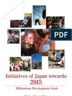 Japan ODA to the MDGs2015
