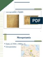Egipto - Mesopotamia