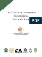 Evaluacion de Competencias Docentes en La Ed Superior