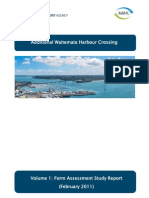 Additional Waitemata Harbour Crossing - It's down to choosing between a tunnel or a bridge.