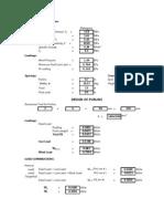Residential Building Design Using Excel Program - Final
