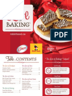 Love of Baking Booklet