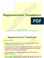 Magnetostrictive Transducers
