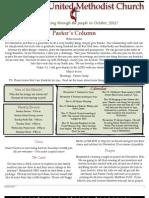 Bloomfield November %2711 Newsletter