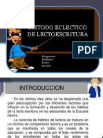 Disertacion Metodo Eclecltico Completo
