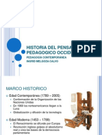 Historia Del to Pedagogico Occidental