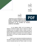 Protocolo de Colaboración y Coordinación Entre Policías ( MIR-FEMP )