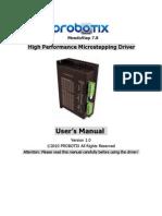 MondoStep7.8 User Manual