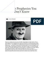 10 Prophecies That You Do Not Know