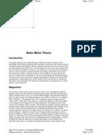 Basic Motor Theory