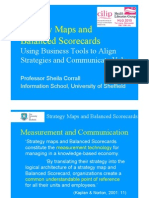 Strategy Maps and Balanced Scorecards