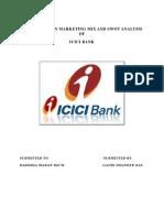 Icici Project on Marketing Mix