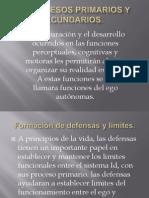 Id, Procesos Primarios y Secundarios