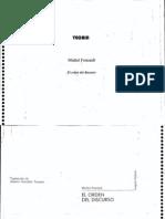 Foucault - El Orden Del Discurso