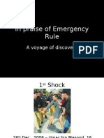 In Praise of Emergency Rule - Presentation