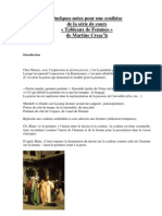 Quelques Notes Pour Synthese Des Tableaux de Femmes