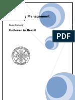 Uniliver in Brazil_essay
