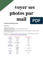 Envoyer Ses Photos Par Mail