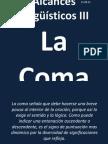 ALCANces lingüísticos III la coma