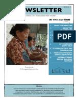 Newsletter (Nov 4, 2011)