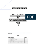 Guidance Note on Revised Sch VI