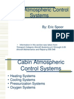 Cabin Atmospheric Control Systems
