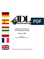 Europe - Antisemitism study