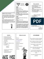 folleto de los conkistadores